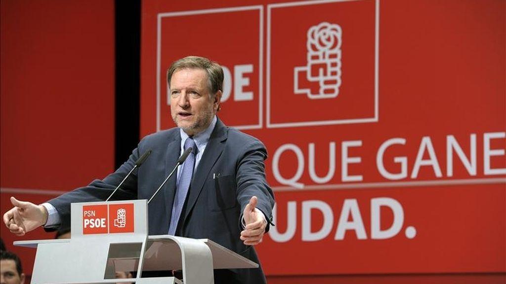 El secretario de Organización del PSOE, Marcelino Iglesias. EFE/Archivo