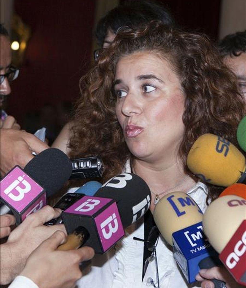 La consellera de Innovación, Interior y Justicia, Pilar Costa. EFE/Archivo