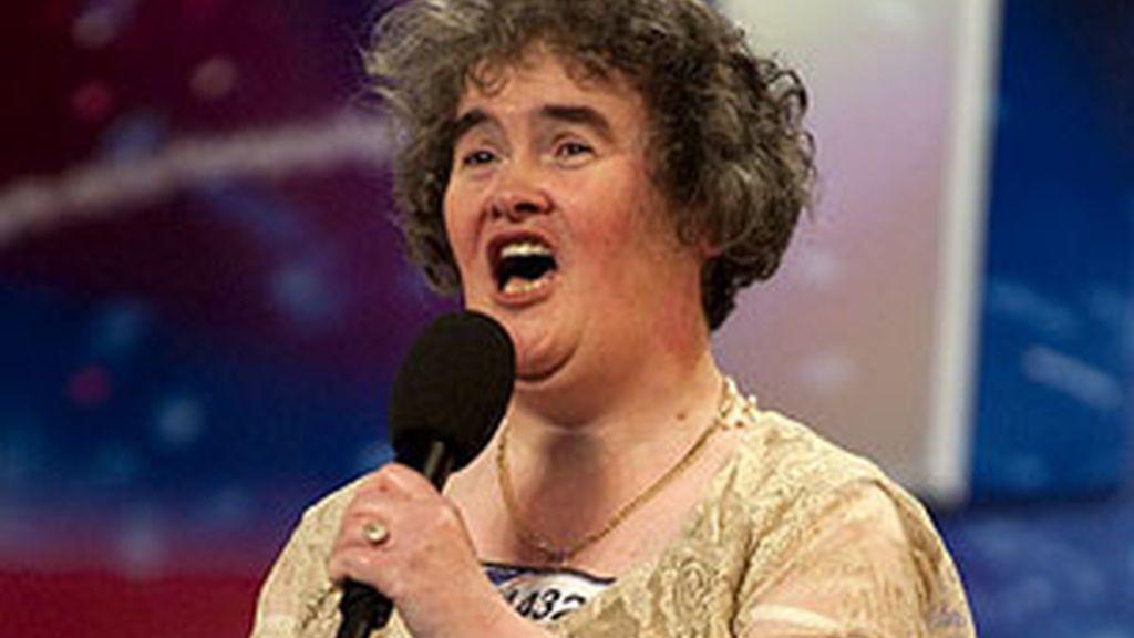 Boyle, la escocesa tímida de 48 años que consiguió la fama mundial gracias a su excelente participación en el concurso Britain's got Talent, se representará en la serie a sí misma. Foto archivo