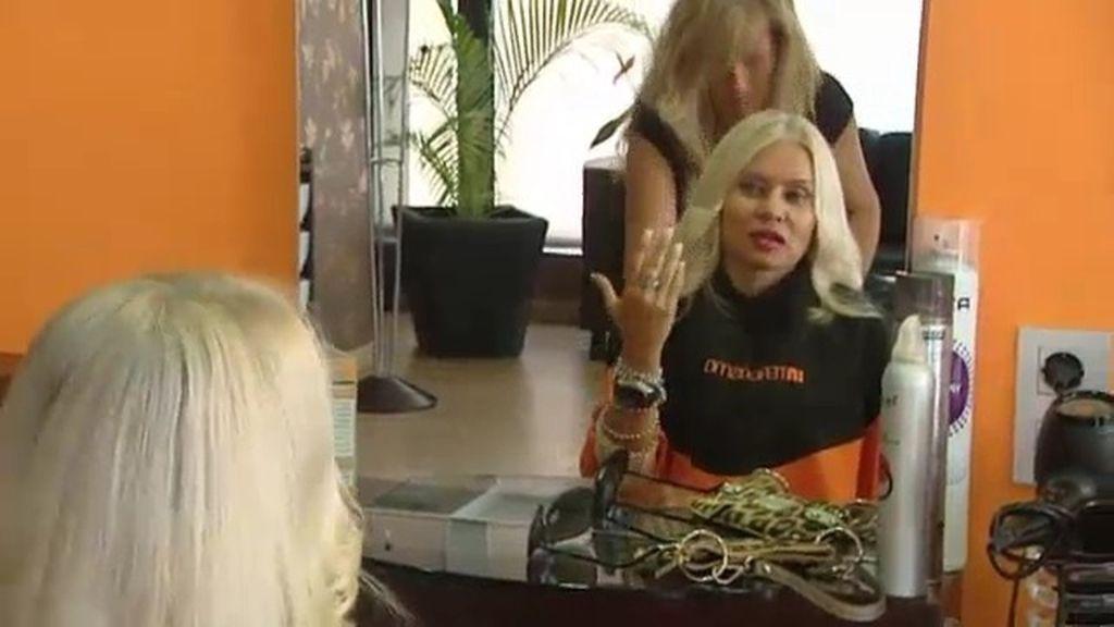Svetlana la lía con sus 'clips' capilares