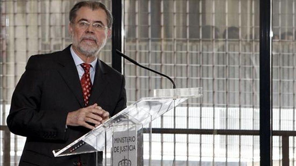 """Bermejo pide """"responsabilidad"""" a los jueces. Video: ATLAS."""