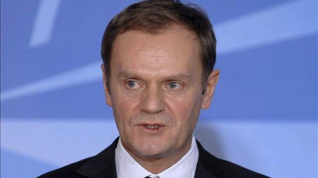 El primer ministro polaco Donal Tusk. EFE/Archivo