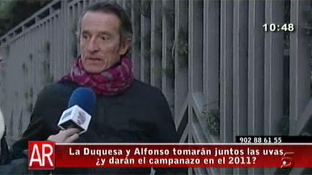 Alfonso Díez guarda silencio