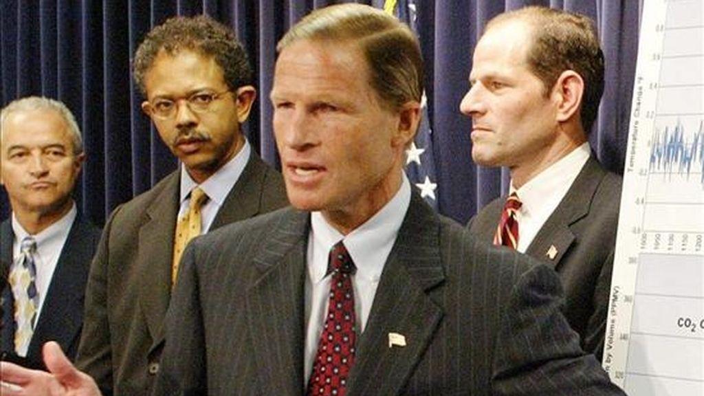 Richard Blumenthal, fiscal general del Estado de Connecticut que encabezó una campaña a la que se sumaron decenas de estados en reclamaciones contra MySpace. EFE/Archivo