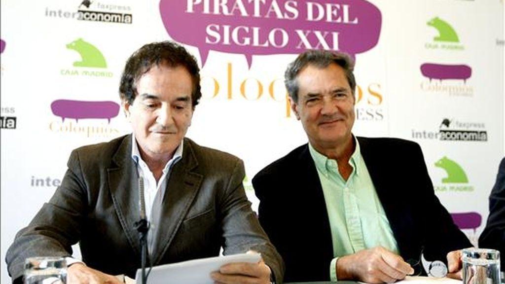 """Una imagen de los integrantes del """"Duo Dinámico"""", Manuel de la Calva (i) y Ramón Arcusa. EFE/Archivo"""