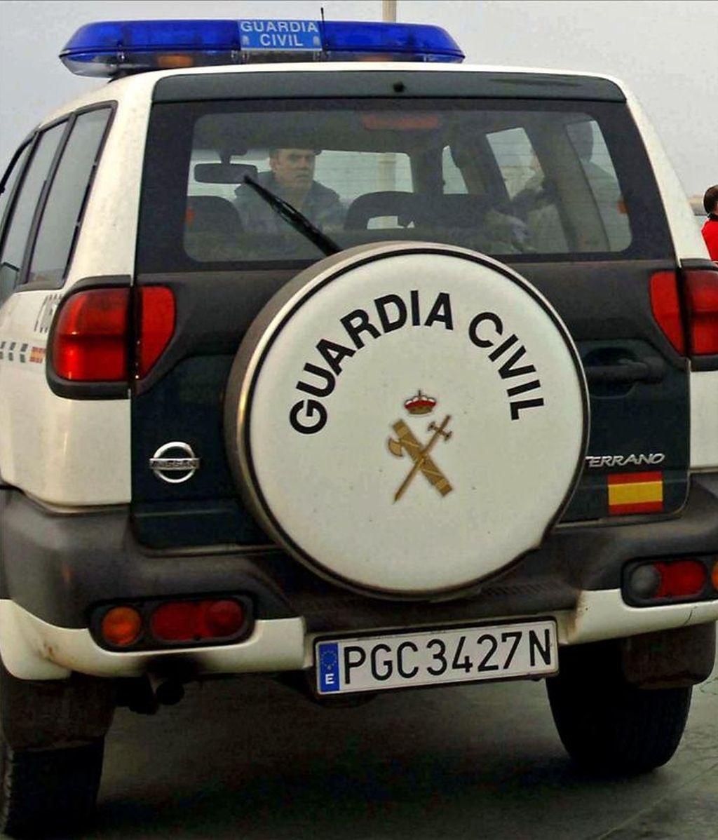 Un vehículo de la Guardia Civil en un suceso. EFE/Archivo
