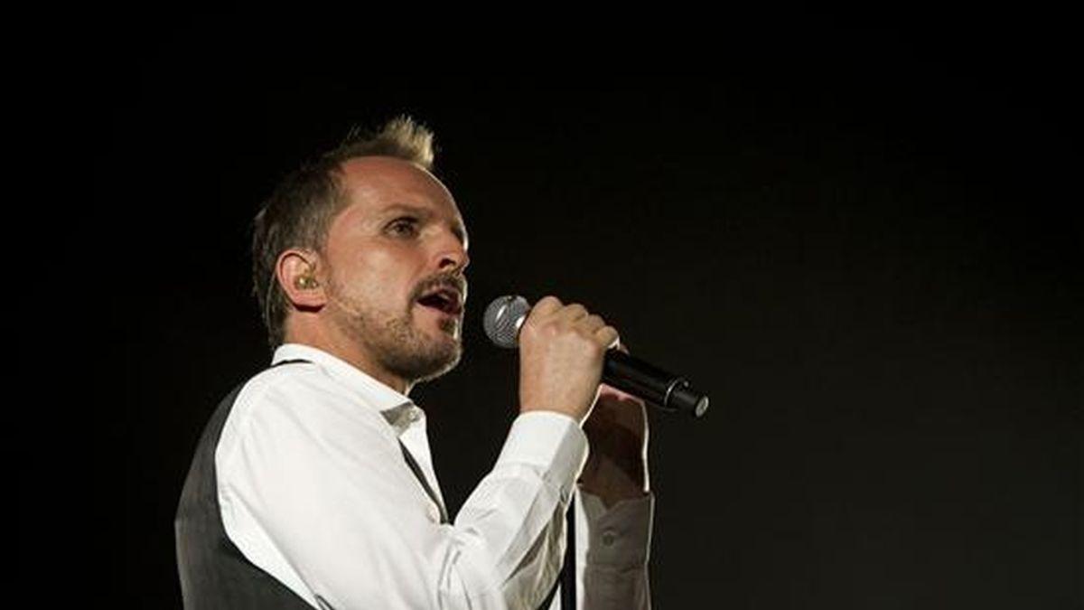 El cantante español Miguel Bosé. EFE/Archivo
