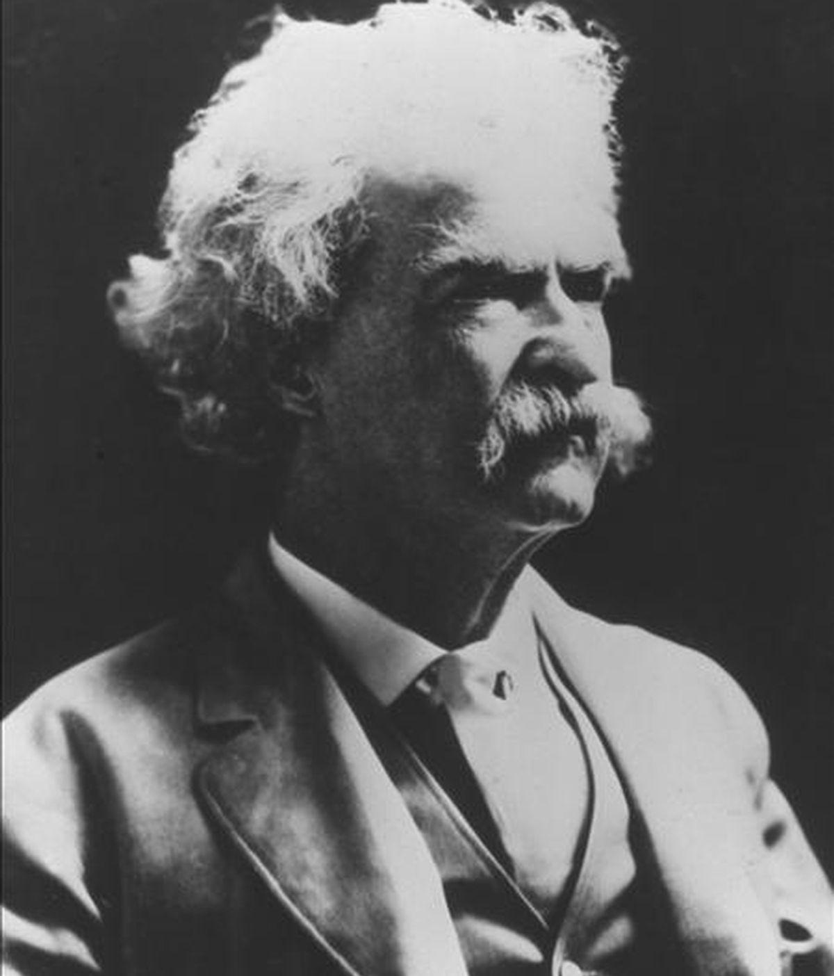 En la imagen, el escritor estadounidense Mark Twain, fallecido en el año 1910. EFE/Archivo