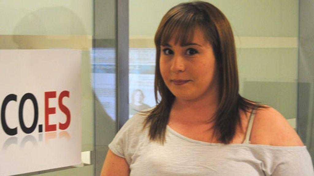 Marta Jurado visita telecinco.es