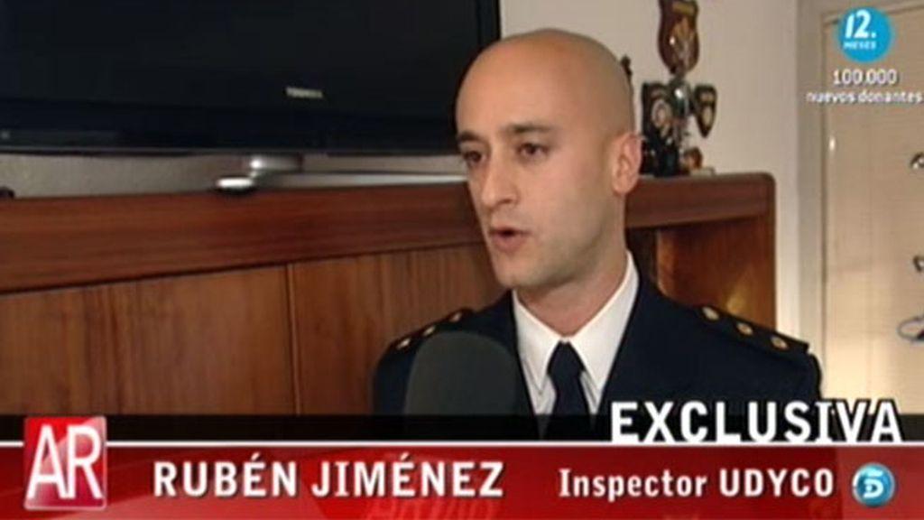 Rubén Jiménez, el policía que acabo con la carrera delictiva de Cásper