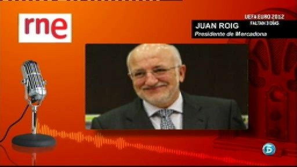 El presidente de Mercadona pide a los españoles que trabajen más