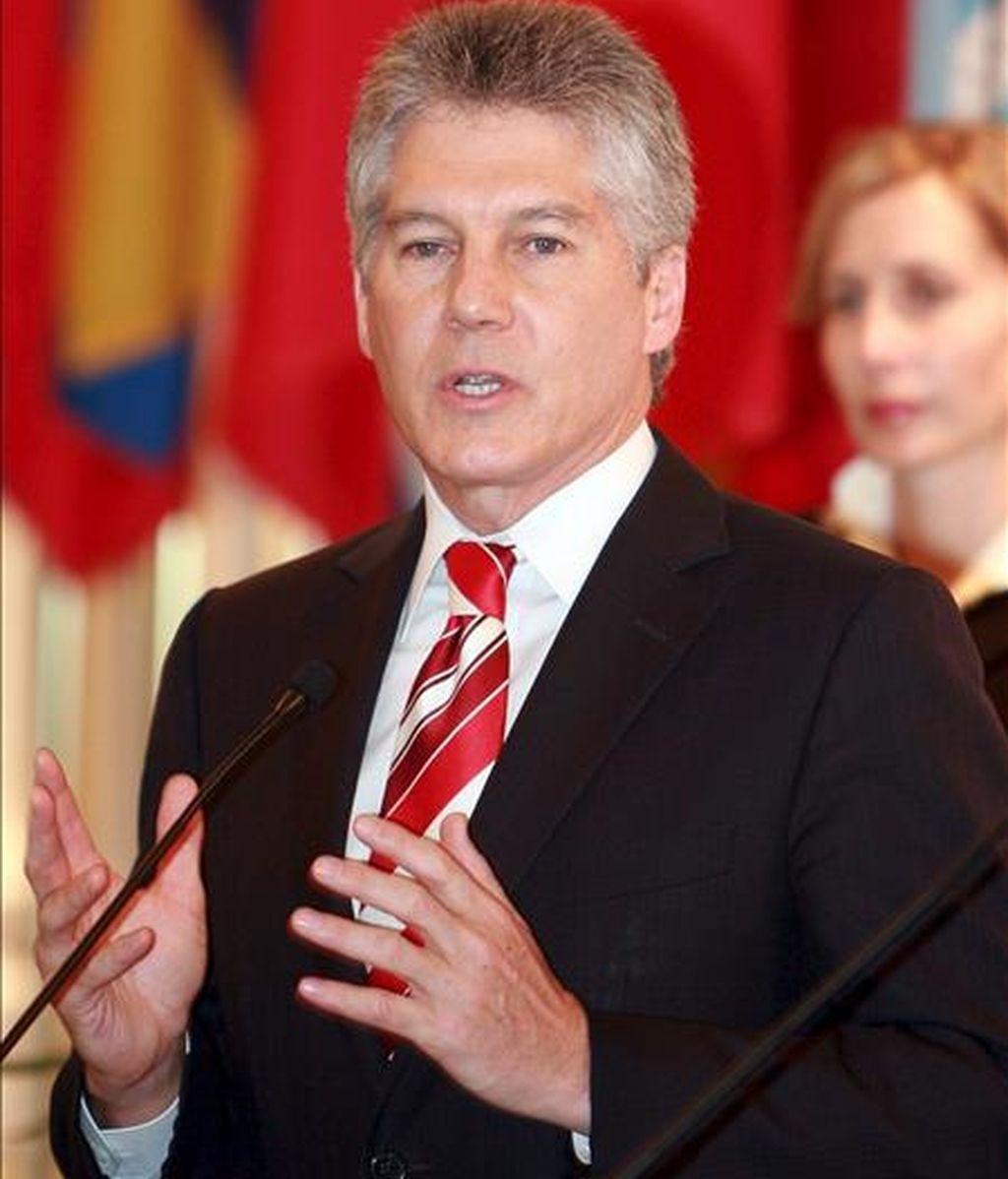 El ministro de Exteriores australiano, Stephen Smith. EFE/Archivo