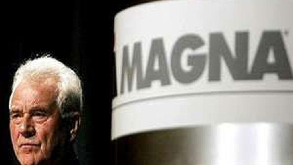 el consejero delegado de Magna, Siegfried Wolf, ha emitidio un comunicado.