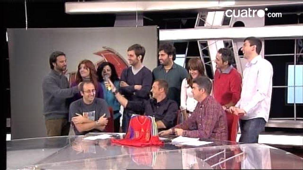 Videochat de Los Manolos 15 de noviembre (2 de 3)