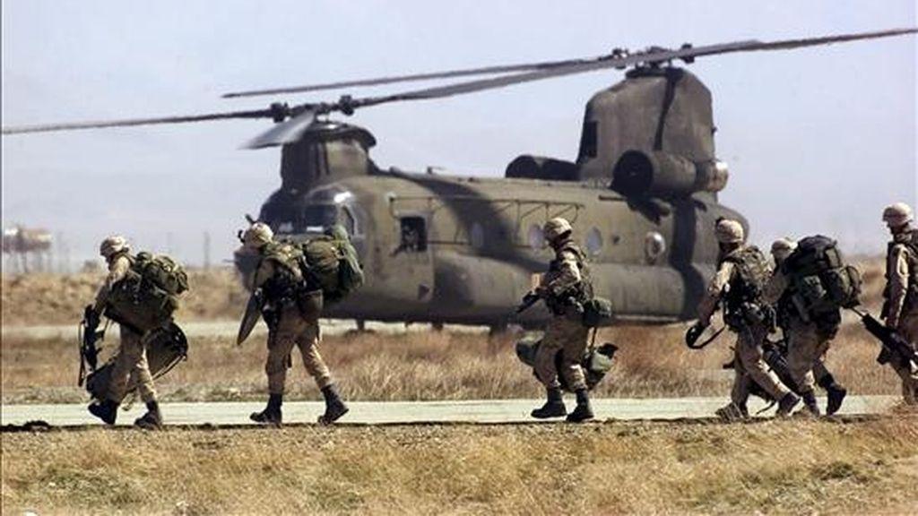 El Gobierno del presidente George W. Bush firmó el año pasado un acuerdo con Irak para la permanencia de las tropas de combate hasta 2011. EFE/Archivo