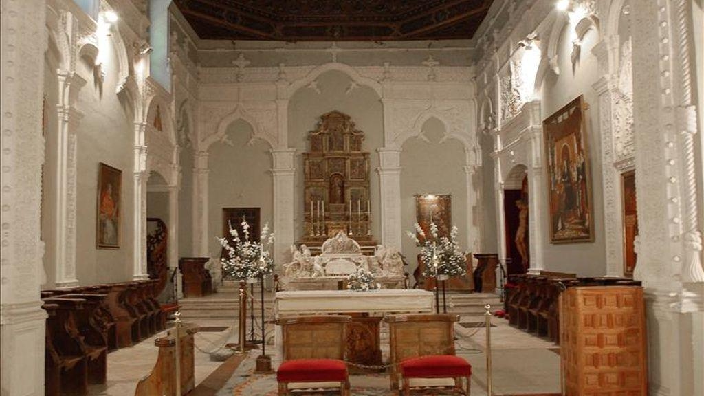 Interior de la capilla de San Ildefonso de la Universidad de Alcalá de Henares. EFE/Archivo