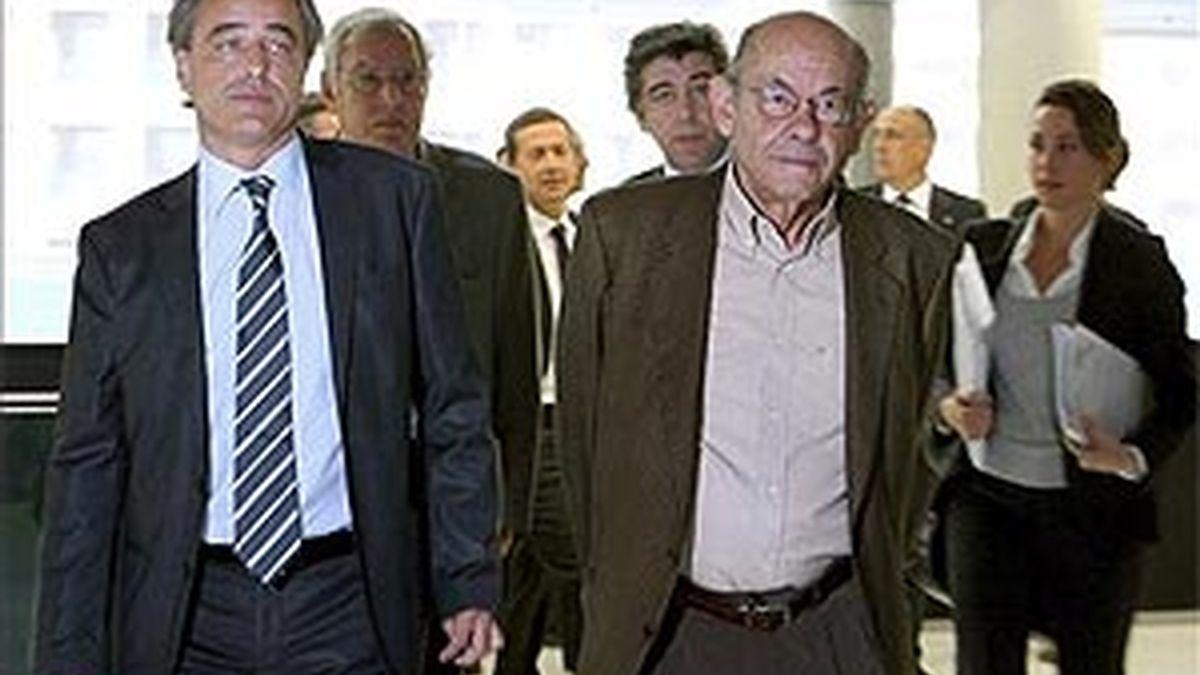 Jordi Montull y Félix Millet en una imagen de archivo