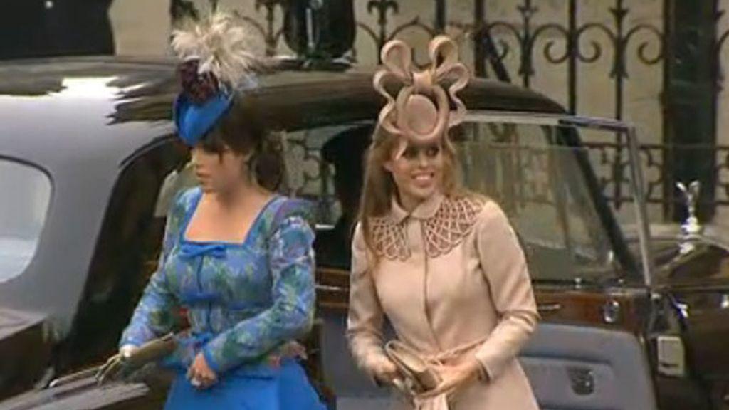 Beatrice y Eugenia de York, primas del novio