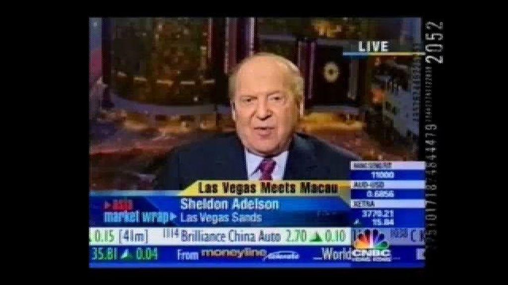 Sheldon Adelsón, el padre de Eurovegas