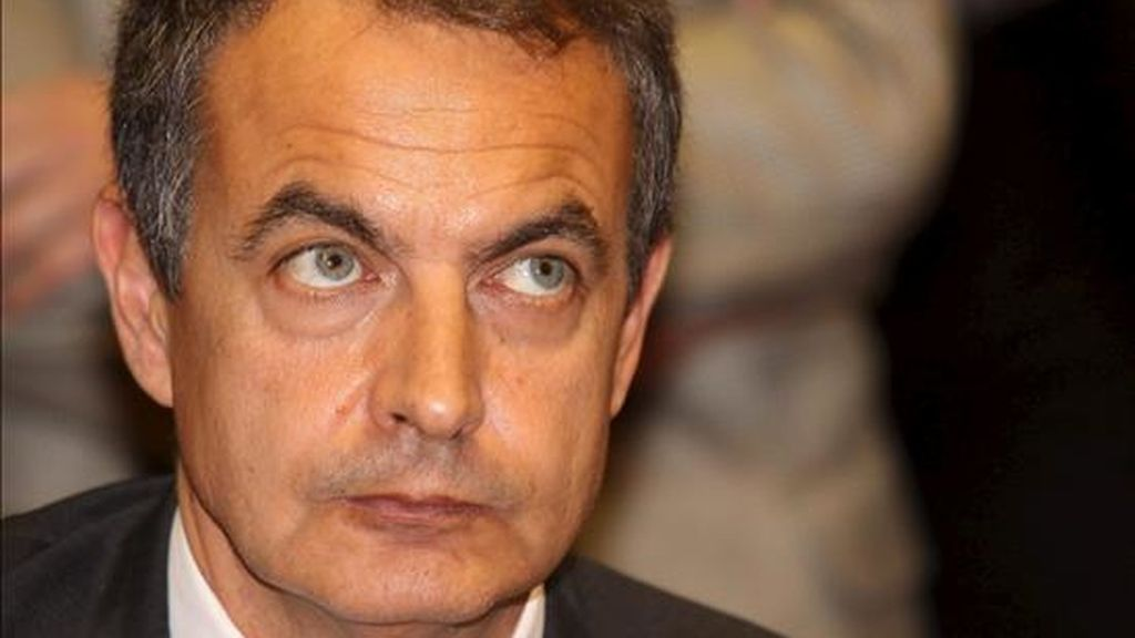 El presidente del Gobierno español, José Luis Rodríguez Zapatero. EFE/Archivo