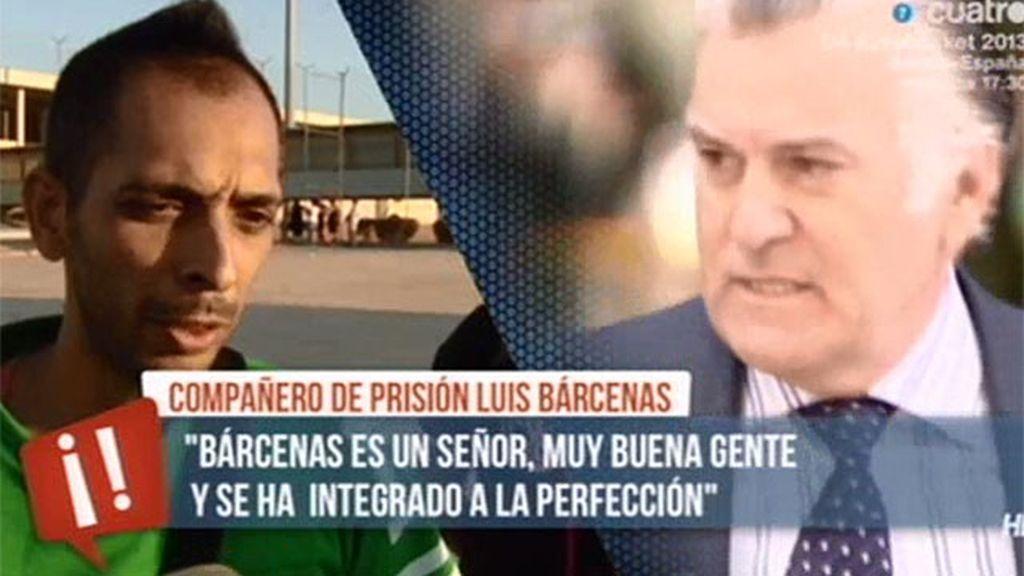 """Compañero de prisión de Bárcenas: """"Es un señor, es muy buena gente"""""""