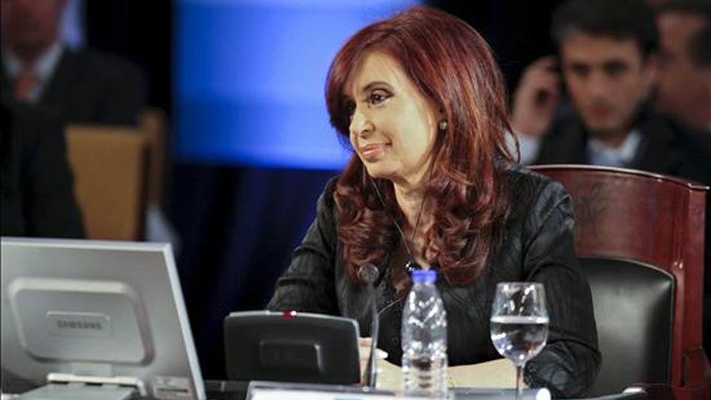 La presidenta de Argentina, Cristina Fernández. EFE/Archivo