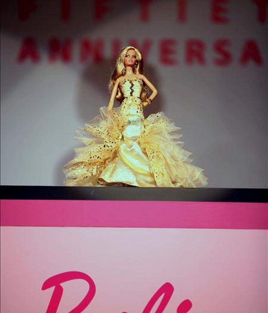 """La empresa estadounidense Mattel, fabricante de la muñeca """"Barbie"""" y otros juguetes, cerró el primer trimestre de este año con una perdida neta de 51 millones de dólares. EFE/Archivo"""