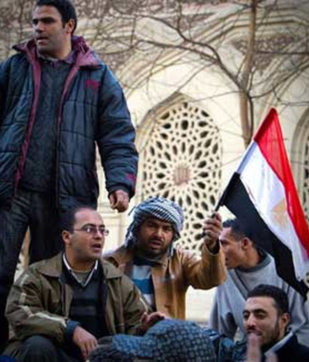 Los manifestantes y los sindicatos egipcios se preparan para el 'viernes de los mártires'. Vídeo: Informativos Telecinco
