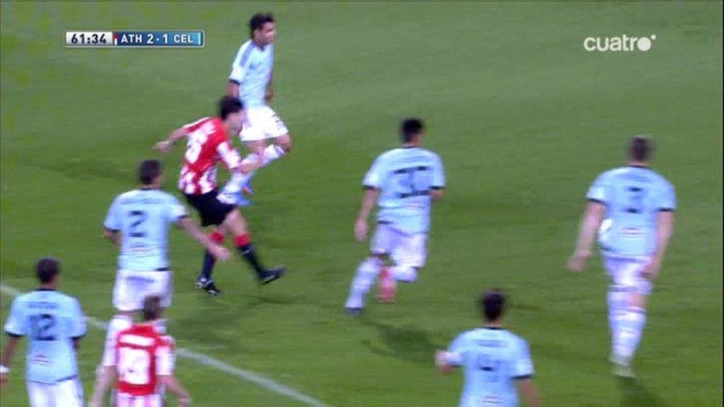 Gol de Iraola (Athletic 2-1 Celta)