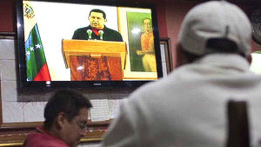 Chávez ha dado la noticia en un discurso televisado desde La Habana. Víode: Informativos Telecinco