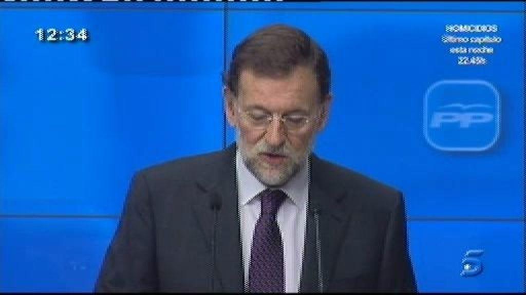 Jesús Posada, candidato a la presidencia del Congreso y Pío García Escudero, candidato al Senado