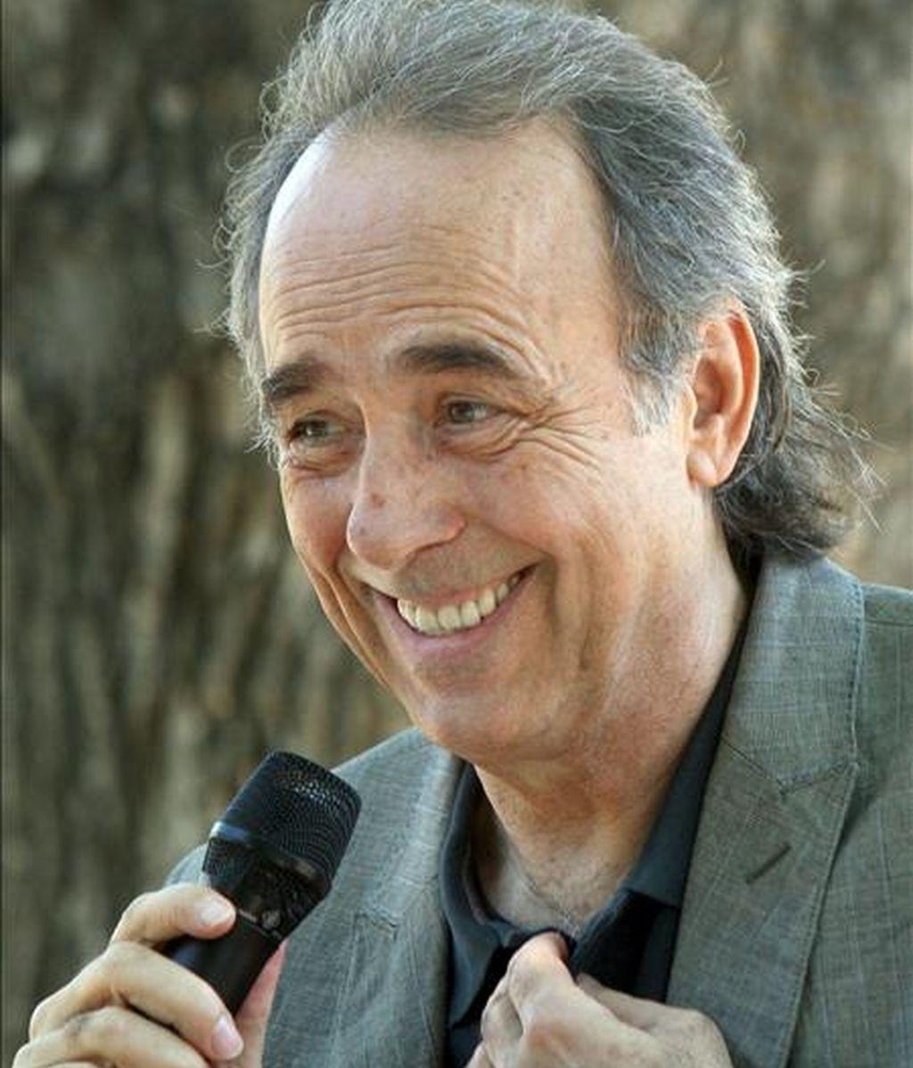 El cantautor Joan Manuel Serrat. EFE/Archivo