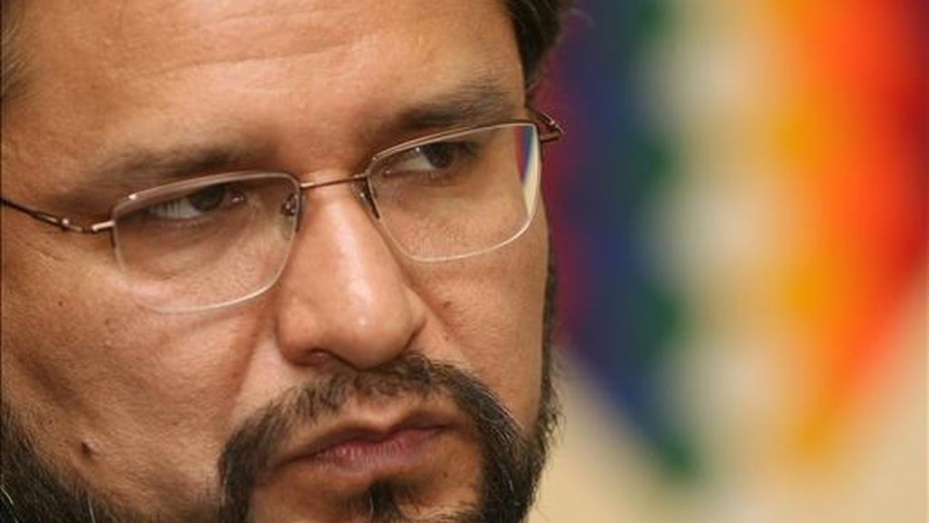 El ministro de Gobierno (Interior) de Bolivia, Alfredo Rada, reconoció que cinco agentes policiales ingresaron en Paraguay junto a seis civiles bolivianos. EFE/Archivo