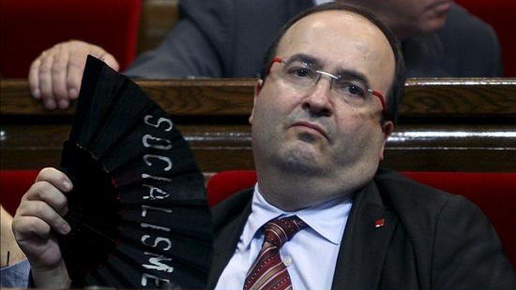 El portavoz de los socialistas catalanes, Miquel Iceta. EFE/Archivo