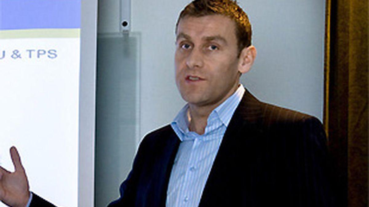 Stephen McNamara, portavoz de Ryanair. FOTO: Archivo.