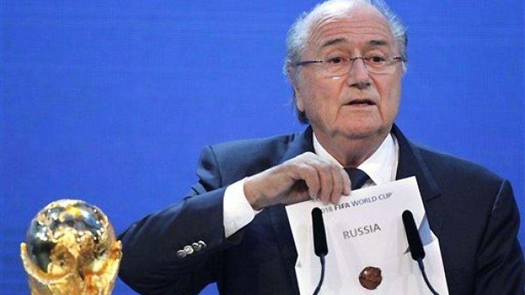 Ceremonia de elección de las sedes del Mundial 2018 y 2022