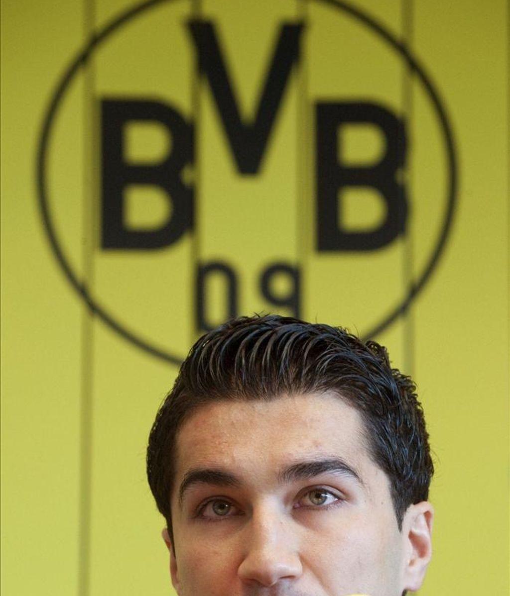 El futbolista turco Nuri Sahin. EFE/Archivo