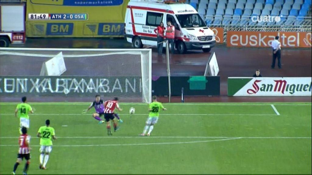Gol de De Marcos (Athletic 2-0 Osasuna)