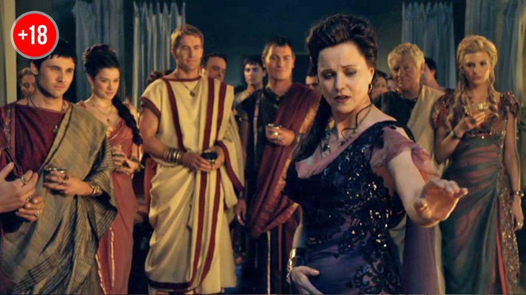 "Lucrecia, a Crixus: ""He retrasado tu muerte para así saborearla"""