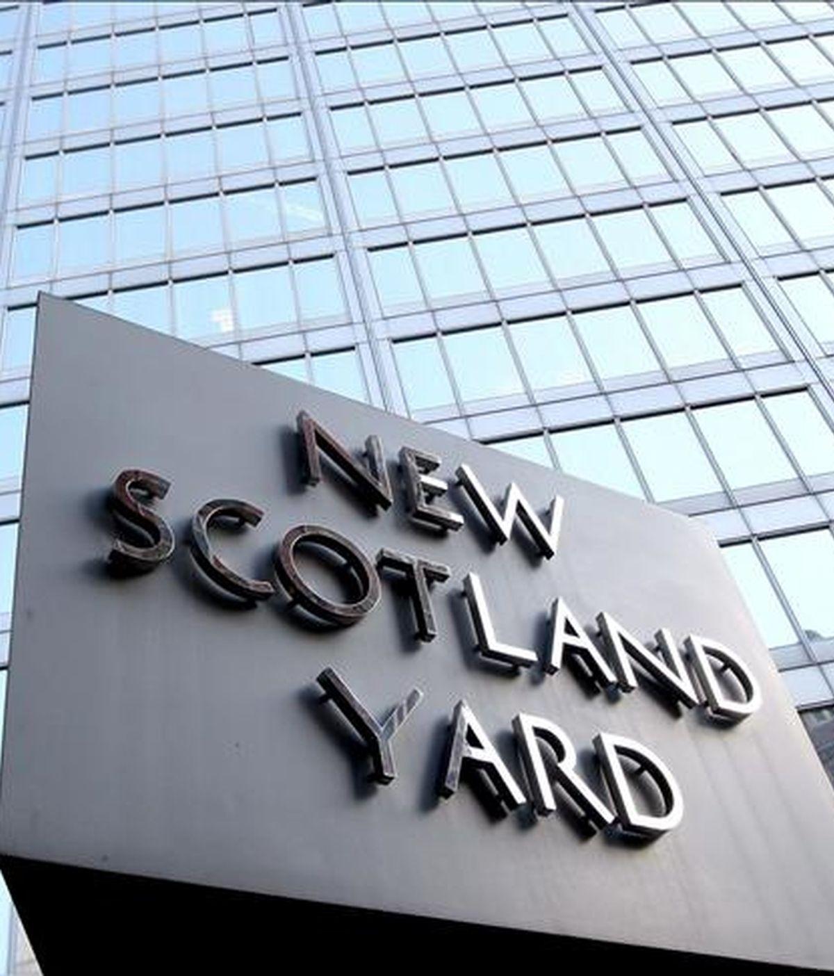 Imagen de la sede de New Scotland Yard en Londres, Reino Unido. EFE/Archivo