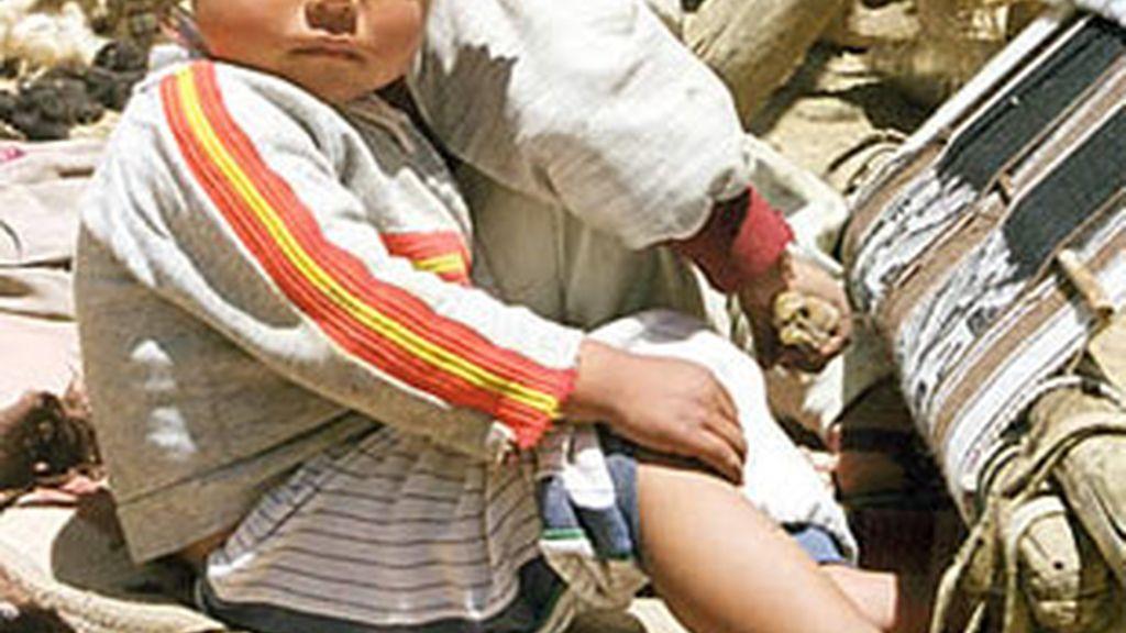 La ONG internacional 'Save the Children' denuncia el tráfico de menores.