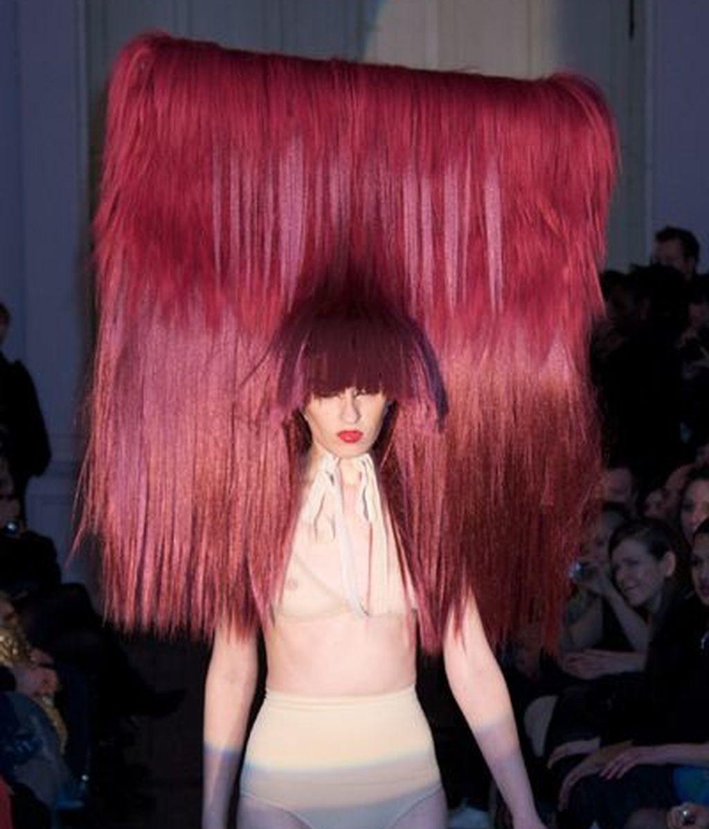 Las modelos monstruos de Charlie Le Mindu