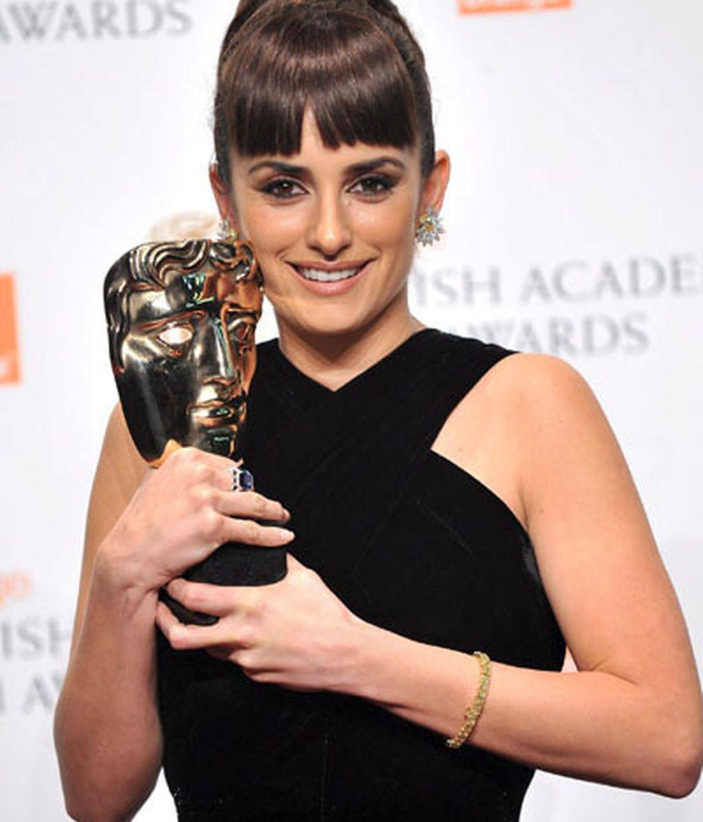 Penélope consigue el Bafta a la mejor actriz de reparto