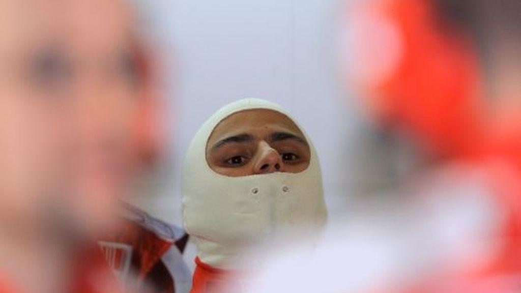 Felipe Massa, durante los libres. FOTO: EFE.