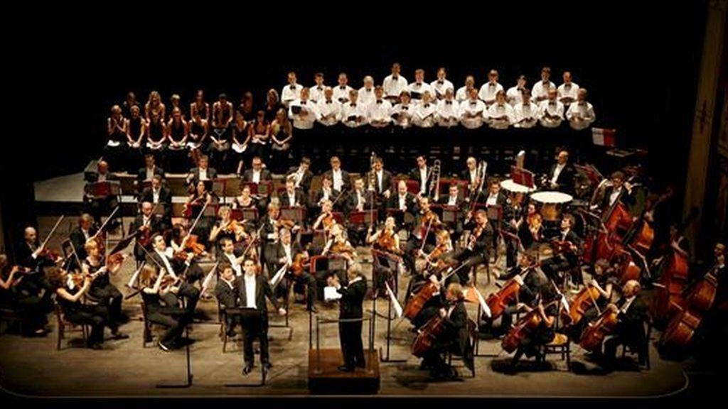 La agrupación, cuyo nombre original es Kammerorchester Berlin, que se presentará nuevamente el próximo viernes, fue fundada en 1945 por Helmut Koch. EFE/Archivo