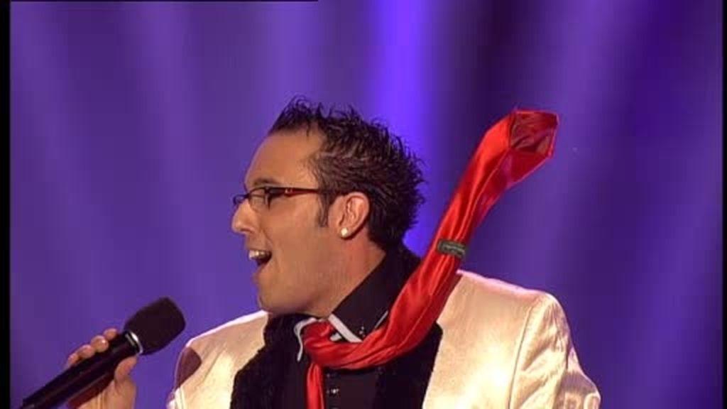 El mago Scott y su corbata mágica