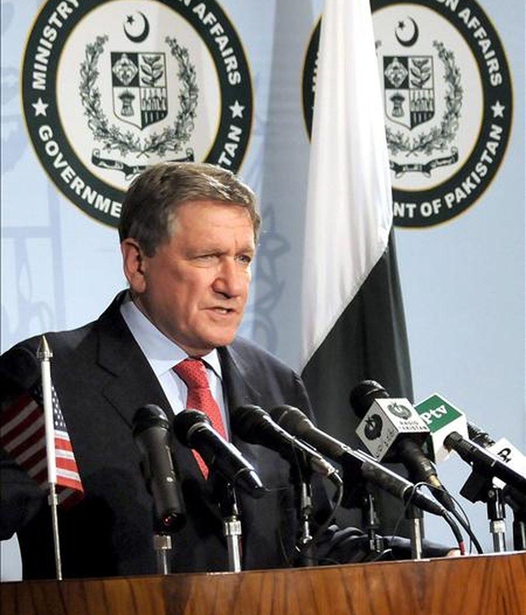 """La conferencia del 20 de julio es una reunión de """"seguimiento"""" de la que se celebró el 28 de enero en Londres y fue convocada por el presidente afgano, Hamid Karzai, explicó el enviado especial de los Estados Unidos para Pakistán y Afganistán, Richard Holbrooke. EFE/Archivo"""