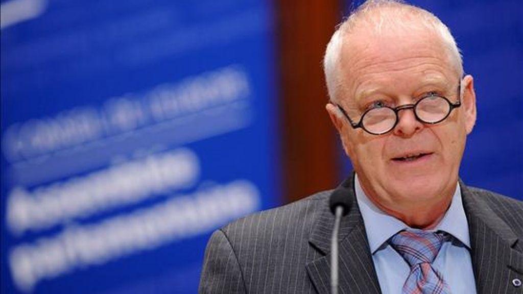 El comisario para los Derechos Humanos del Consejo Europa, Thomas Hammarberg. EFE/Archivo