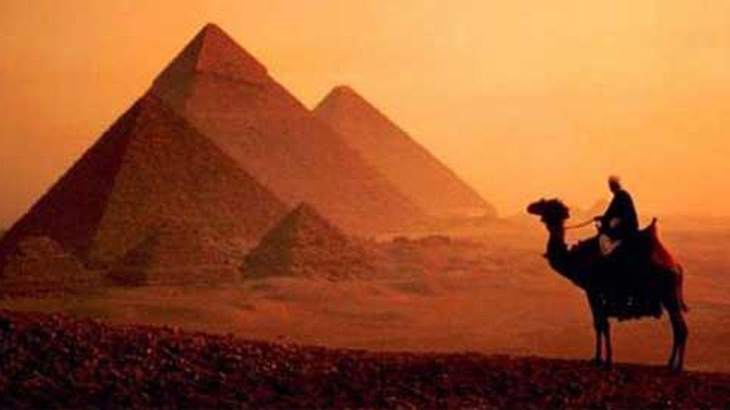 La gran pirámide de Giza. Foto: AP