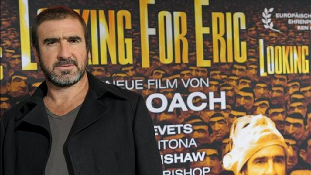 El ex jugador francés de fútbol Eric Cantona. EFE/Archivo